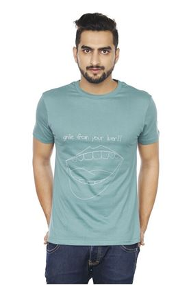Picture of SENTIDO Smile From Leaver T-shirt